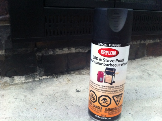 Krylon BBQ Spray Paint