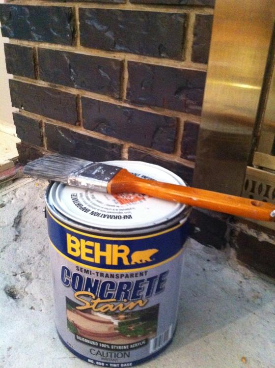 Behr Concrete Stain - Dark Coal